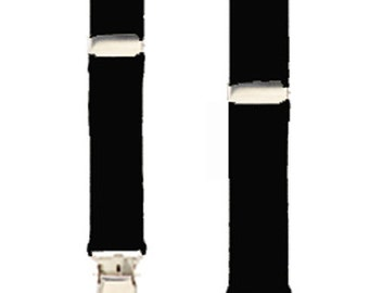 INFANT SUSPENDERS - 5 Solid Colors - 3 Sizes to Fit ages Newborn to 12 Months