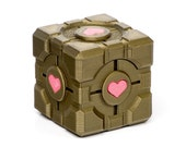 "Lover's Cube - (Ring Sized) Gift Box w/ ""Pink"" Accent & Optional Ring Inserts for One or Two"
