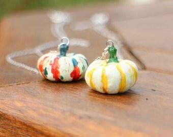 Lil' Orange Mon pumpkin necklace chose from 3 type