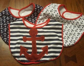Nautical Bibs
