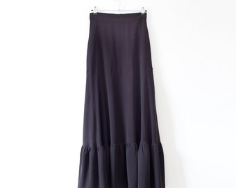 40% off black maxi skirt with pockets,black a line skirt,maxi skirt boho maxi skirt,flowy maxi skirt,black high waisted