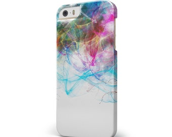 Neon Multi-Colored Paint in Water - iNK-Fuzed Hard Case for the Apple iPhone - Samsung Galaxy & More