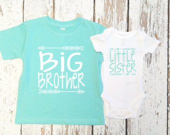 Big Brother and Little sister outfit  / Big brother little sister set