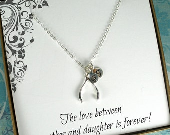 Personalized Mom Gifts, Personalized Mom Necklace, Mother Necklace, Mother's Day Gift, Mom Birthday Gift, Christmas Gifts for Mom, Initial