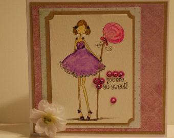 So Sweet #3 Greeting Card