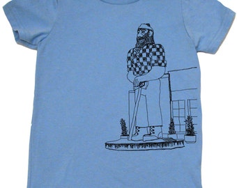 Paul Bunyan Toddler Shirt by Portland In Stitches