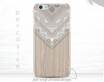 iPhone 6s Case Geometric Pattern iPhone 6 Plus Case Pastel iPhone 6s Case Wood Print iPhone 7 Case iPhone 6 Case, Galaxy S7 case  01o