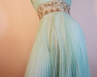 FREE  SHIPPING   Vintage Designer Couture Gown