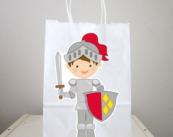 Knight Goody Bags, Knight and Shining Armor Bags