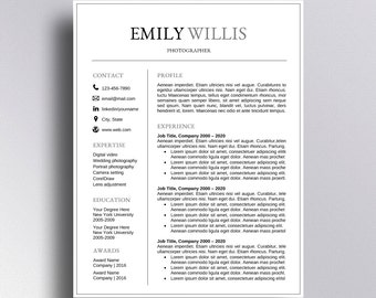 buy 1 get 1 free resume template cv template cover letter for word professional resume