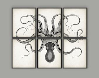 Octopus Wall Decor | Etsy