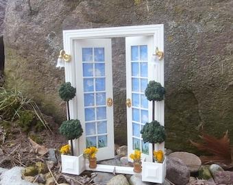 White Fairy Door, Fairies on Vacation