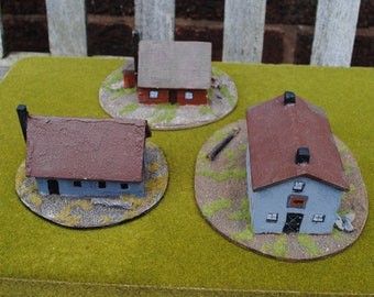 15mm Wargame Scenery Handmade Scratch-built Late Medieval to Napoleonics.