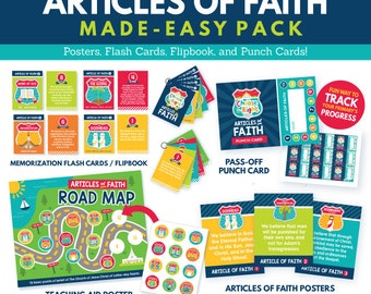 2017 LDS Primary Theme- Articles of Faith Printables