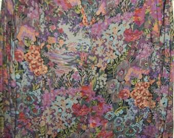 Vintage Carole Little Artist Palette Shirt Blouse. Spectacular Beauty ! Size Large