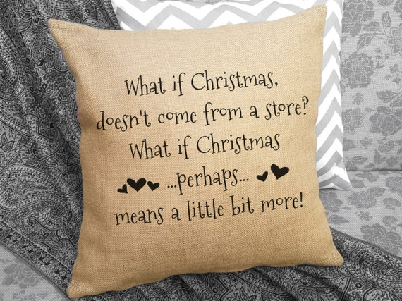 What If Christmas Doesn't Come From A Store By SweetPickleShop