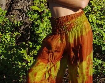 Summer Pants Harem Pants Hippie Trousers Afghani Pants Elven Clothing Fairy Clothing Yoga Pants Festival Outfit Buggy Trousers Boho Pants