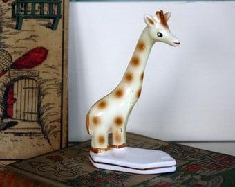 Giraffe Figurine Zoo Nursery Decor