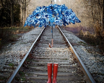 Butterfly Umbrella - photo print