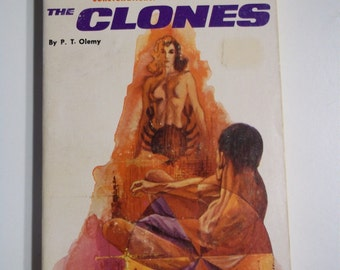 The Clones by P.T. Olemy Flagship Books 1968 Vintage Science Fiction Paperback
