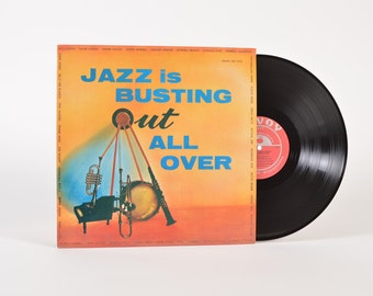 JAZZ is BUSTING OUT All Over - vinyl record