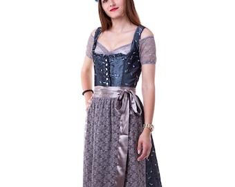 Luxury midi lace apron Dirndl apron made of beautiful lace fabric dirndl german dirndl dress apron