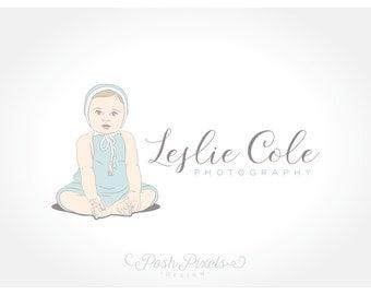 Logo Design (Premade) Child logo, Baby Logo, Hat logo, Photography logo, Infant logo, Business logo, Boutique logo, Cute logo