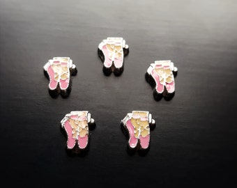Ballet Shoes Floating Charm for Floating Lockets-Gift Idea