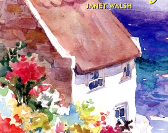 Watercolor Made Easy by Janet Walsh | Art Instruction Book