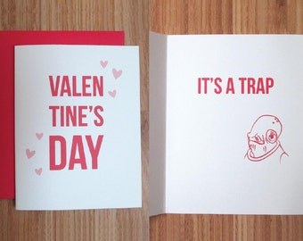 Star Wars Valentine's Day Card / It's a trap