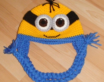 Crochet; Minion Hat