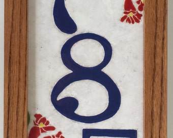 Hummingbird address tile