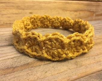 Mustard Yellow Baby Headband