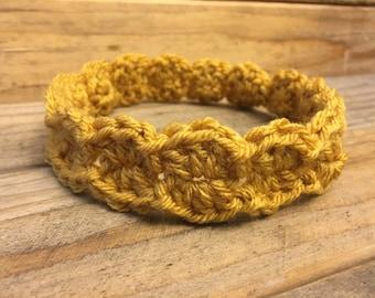 Mustard Yellow Baby Headband