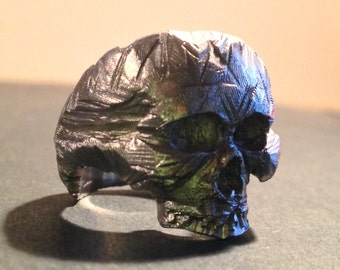 The Rough Skull 925 Sterling Silver