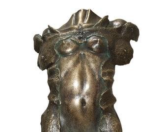 FREE (161) electrolytic bronze sculpture