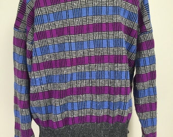 Colours by Alexander Julian Vintage 1980s Sweater, size L