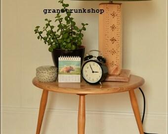 Table lamp bedside rustic handmade  FREE UK POSTAGE
