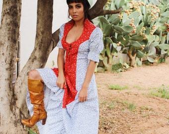 Rustic Maxi Dress - Bohemian Festival Long Dress - Long Dresses Beach Weddings - Maxi Dress For Gift  - Womens Maxi Dress Summer Bohemian