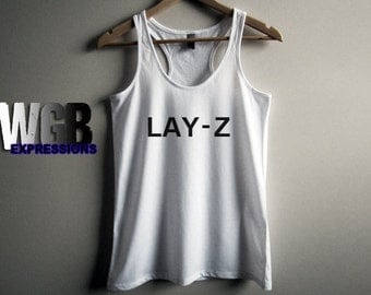 Lay-Z hers womens tank top white gift fashion style