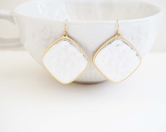 Silver and Gold Tribal Earrings