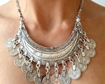 OTTOMAN necklace / / silver chain / / Turkish jewelry