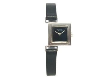 1970s Vintage Christian Bernard Asymmetric Square Watch
