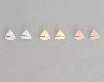 Sailboat Earrings - 010100201-203
