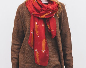 Red Fox Scarf