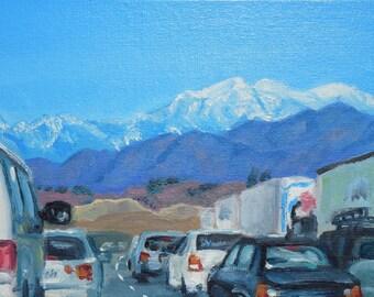 Road Trip Original Painting