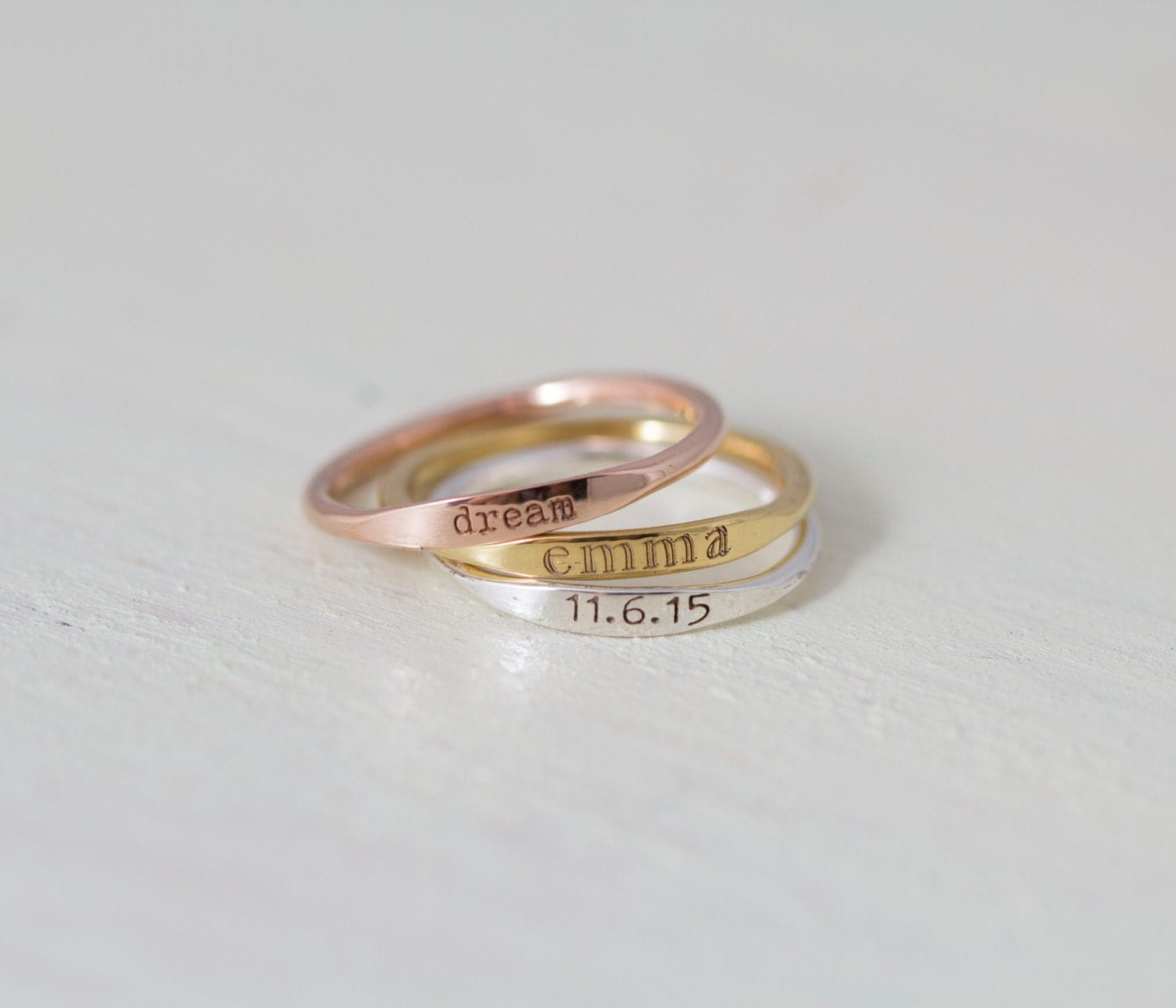 name rings personalized