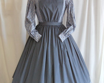 1860s Pinner Apron / New Handmade Historical Apron / Civil War Era / Reenactment
