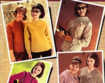 Campus Hand Knits For Men and Women Patterns Book 1963