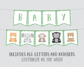 Printable Jungle Theme Ba...